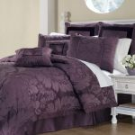 Bedroom Contemporary Pink Purple Comforter Sets Queen Bedding