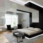 Bedroom Designs Amazing Modern Furniture Wooden Floor White Black Ceiling