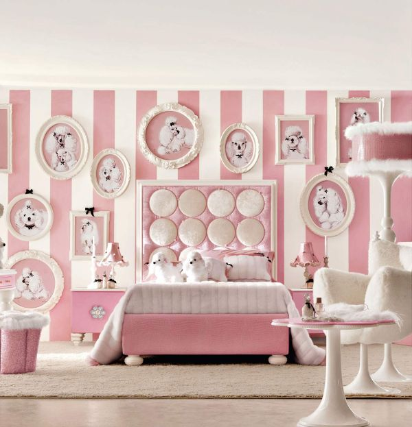 Bedroom Designs Super Cute Teenage Girls Room Chic White Posh Baby Pink