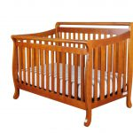 Bedroom Traditional Wood Sleigh Crib Design Your Baby Nursery