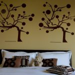 Bedroom Wall Paint Designs Decor Ideas Design Trends Premium Psd