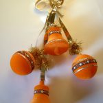 Best Orange Christmas Ornaments Pinterest Deco
