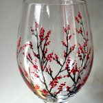 Best Painted Wine Glasses Ideas Pinterest Hand