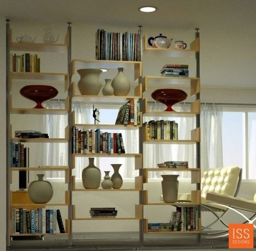 Best Room Divider Shelves Ideas Pinterest Bookshelf