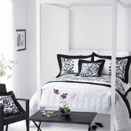 Black White Bedrooms Designs Home Design