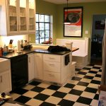 Black White Kitchen Floor S Info Home Furniture Decoration Design