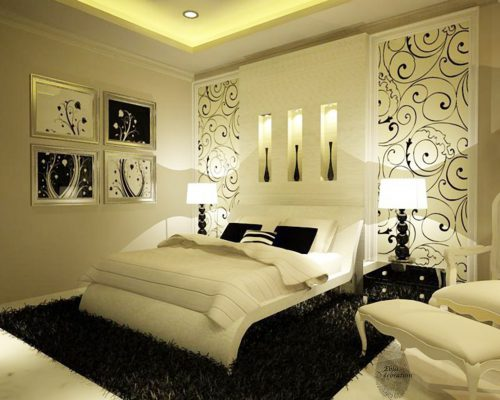 Black White Master Bedroom Ideas