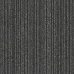 Black White Striped Carpet Tiles