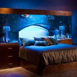 Bloombety Really Cool Bedroom Ideas Heardboard Fish Tank
