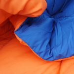 Blue Orange Reversible College Comforter Twin Cool Dorm