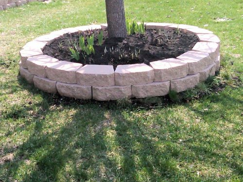 Brick Borders Flower Beds Make Bed Edging Your House Garden
