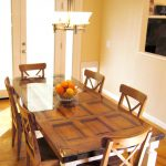Build Dining Table Old Door Posts Easy Crafts Homemade