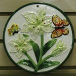 Butterfly Ceramic Canisters Napkin Holder Decor San