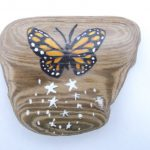 Butterfly Kitchen Magnet Office Decor
