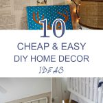 Cheap Easy Diy Home Decor Ideas Frugal
