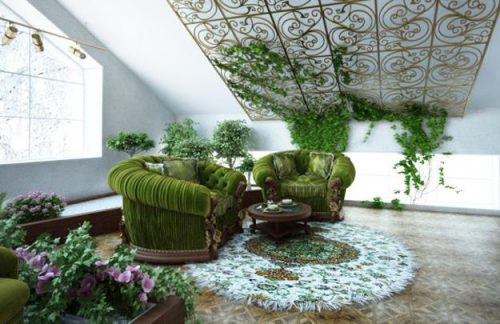 Cheap Ideas Eco Friendly Interior Decorating Tradescantia House