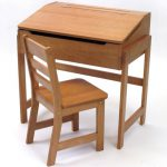 Childrens Wooden Desk Chair Pecan