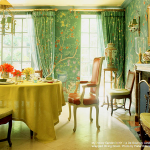 Chinoiserie Chic Green Dining Room Charlotte