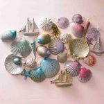 Christmas July Making Ornaments Seashells Grandmother