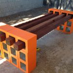 Cinder Block Bench Your Home Outdoor