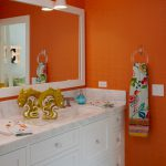 Citrus Colors Back Tour These Summery Bathrooms