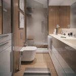 Contemporary Apartment Bathroom Interior Design