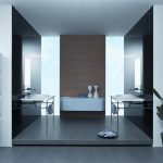 Contemporary Bathrooms Modern Houses