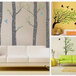 Contemporary Living Space Modern Wall Decals Home Decor