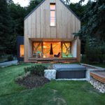 Contemporary Wooden Cottage Prodesi Small House