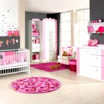Cool Unique Baby Girl Room Themes Colourful Wall Decals