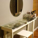 Corner Vanity Table Home Furniture