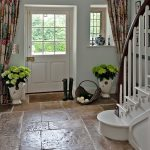 Country Hallway Flagstone Floor Flooring Ideas Decorating