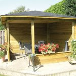 Covered Garden Structure Plans Summerhouses Stan Fairbrother