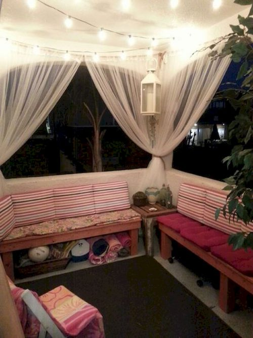 Cozy Apartment Balcony Decorating Ideas Budget