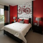 Creative Bedroom Decorating Ideas Cool Color Combinations Using Red White