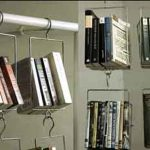 Creative Hanging Book Storage