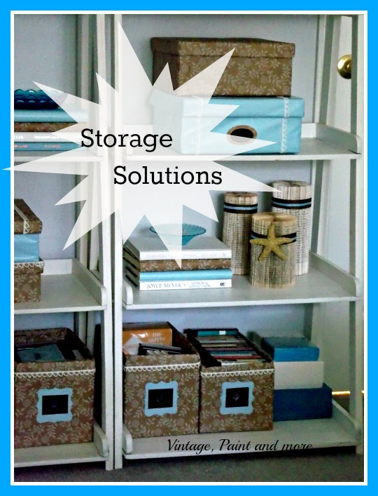 Creative Storage Solutions Vintage Paint