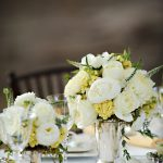 Decorating Ideas Cute Accessories Wedding Table Decoration Using White Rose Flower