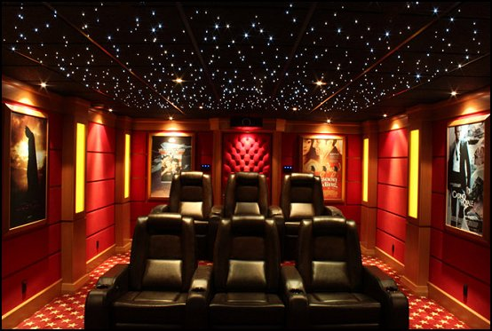 Decorating Theme Bedrooms Maries Manor Movie Themed Home Theater Design