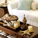 Decoration Ideas Cheerful Rectangular Brown Wooden Coffee Table