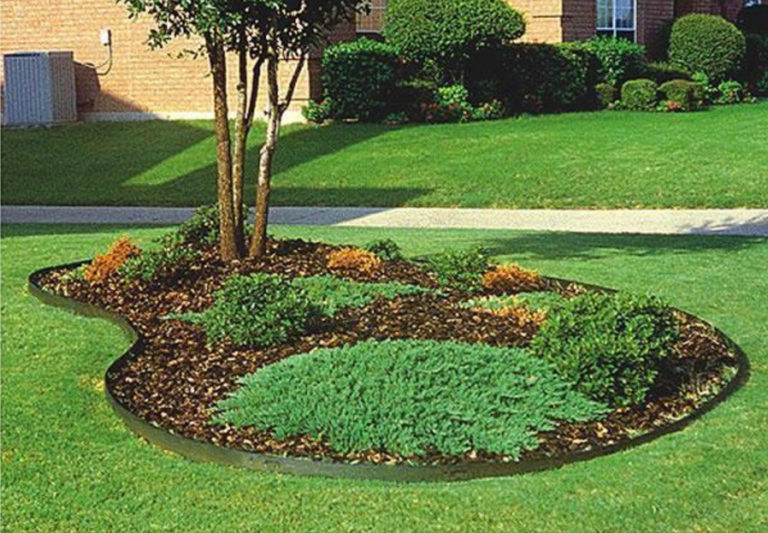 Decorative Landscape Edging Ideas Inexpensive Interior