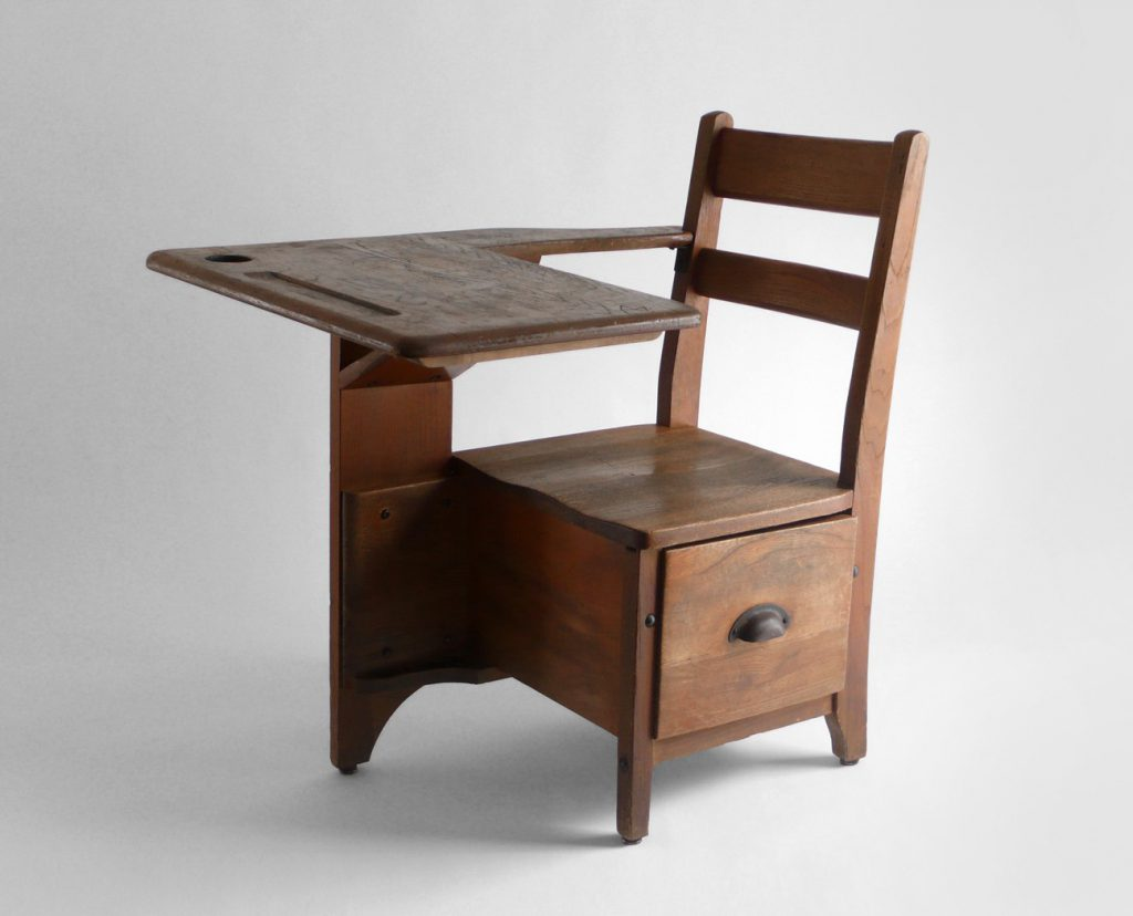 Design Ideas Rustic Antique Children Desks Kids