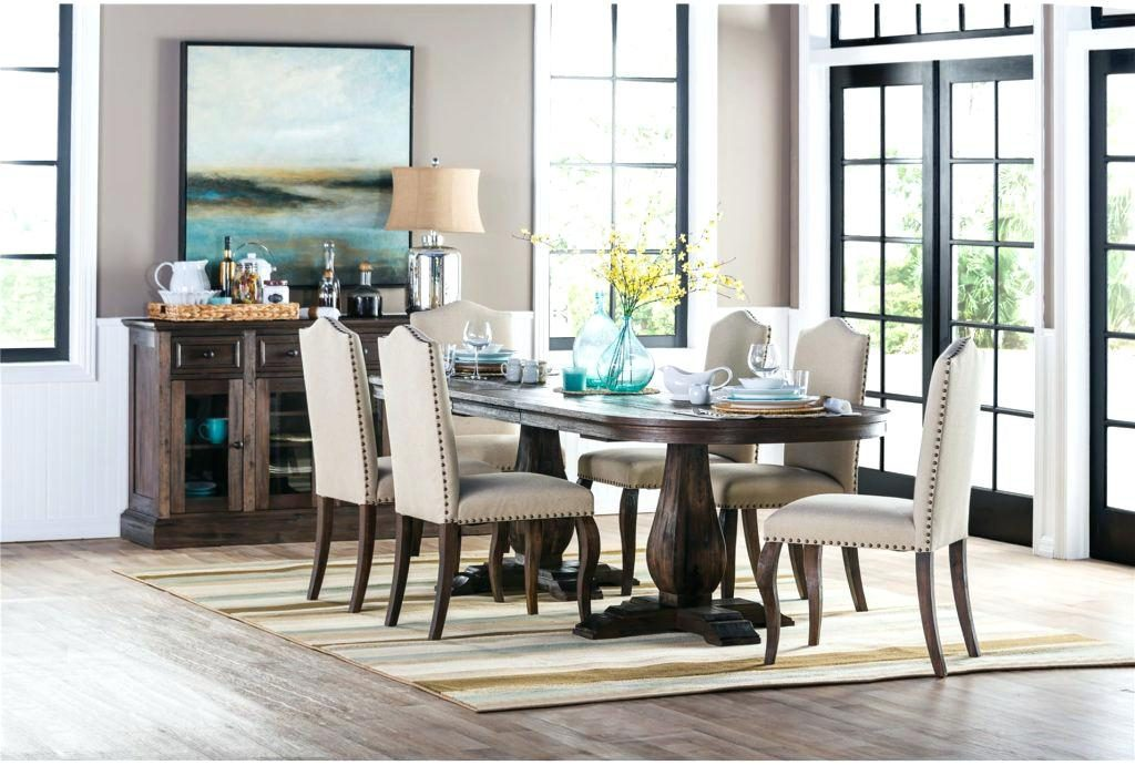 Dining Table Living Spaces Room Chairs