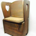 Diy Accent Chair High Arms Storage Made Recycled Wood