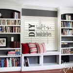 Diy Built Bookshelves Maison