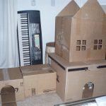 Diy Cardboard Box Homes Towers Cats Purrfect
