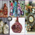 Diy Glass Bottles Decor Ideas Creative Crafts Sell Attachment Craft