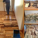 Diy Pallet Wood Flooring Tutorial