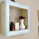 Diy Shelves Old Frames