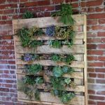 Diy Vertical Garden Pallet Furniture
